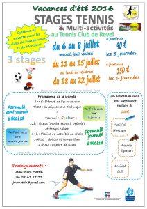 Stage été Fourquevaux 2016