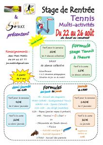 Stage été Aout Fourquevaux 2016
